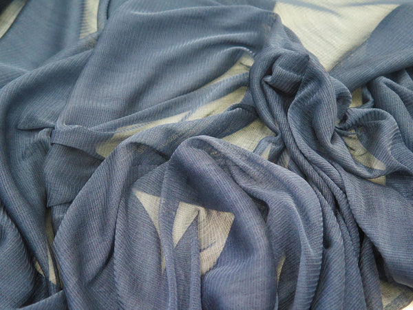 Silk Mesh Junior Blue