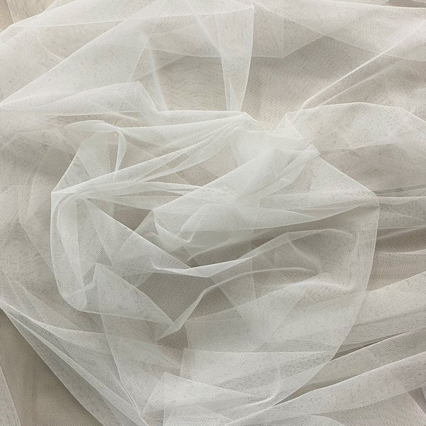 Polyester Tulle Ivory