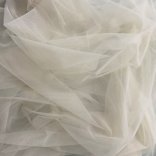 Polyester Tulle Bone