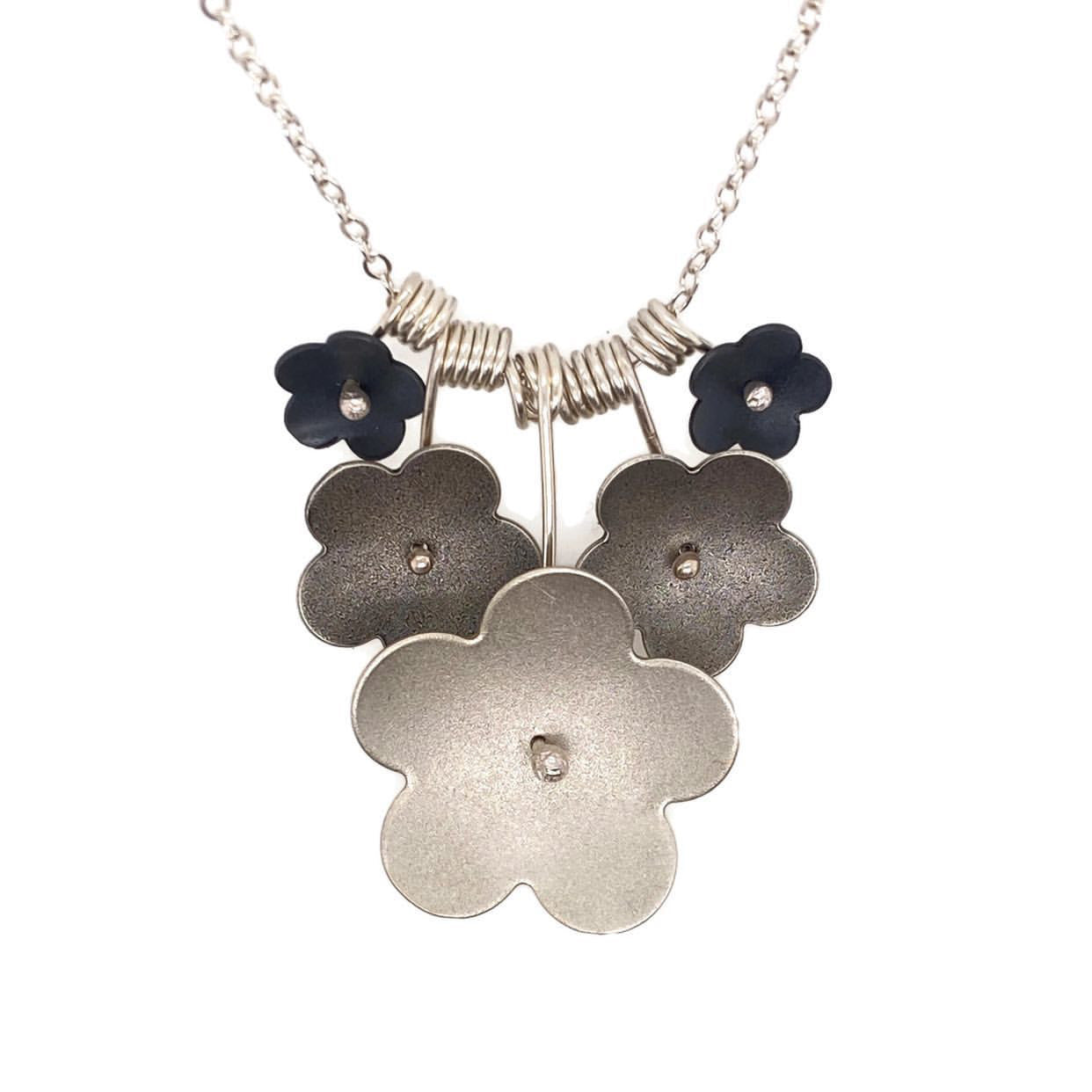 Ombrè Forget-Me-Not Necklace