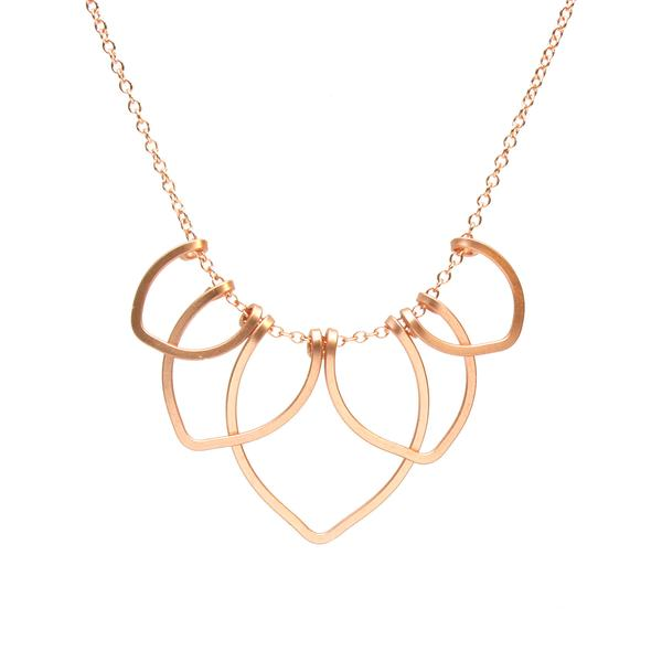 Lotus Blossom Necklace, Petite