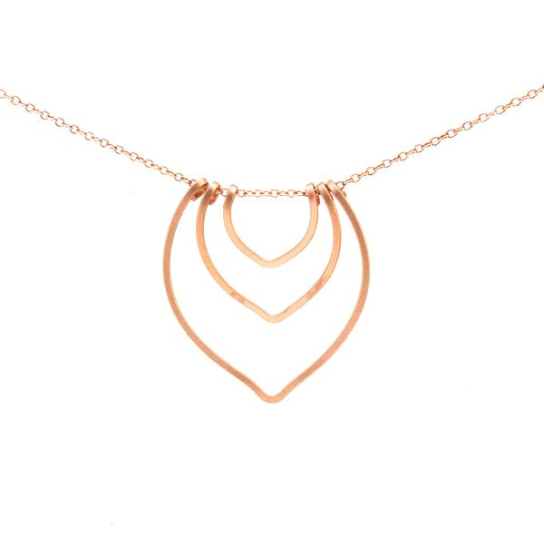 Lotus Bud Necklace, Petite