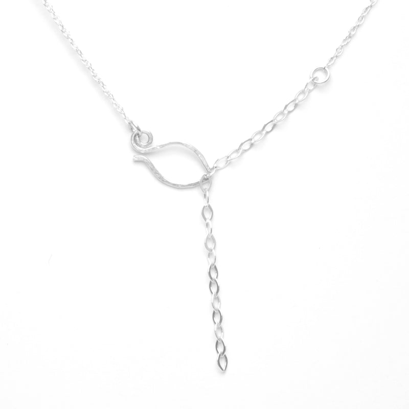 Forget-Me-Not Trinity Necklace, Petite
