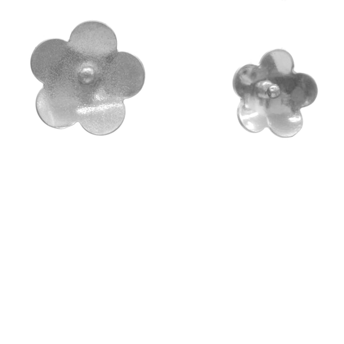 Forget-Me-Not Earrings, Petite Single Blossom Stud