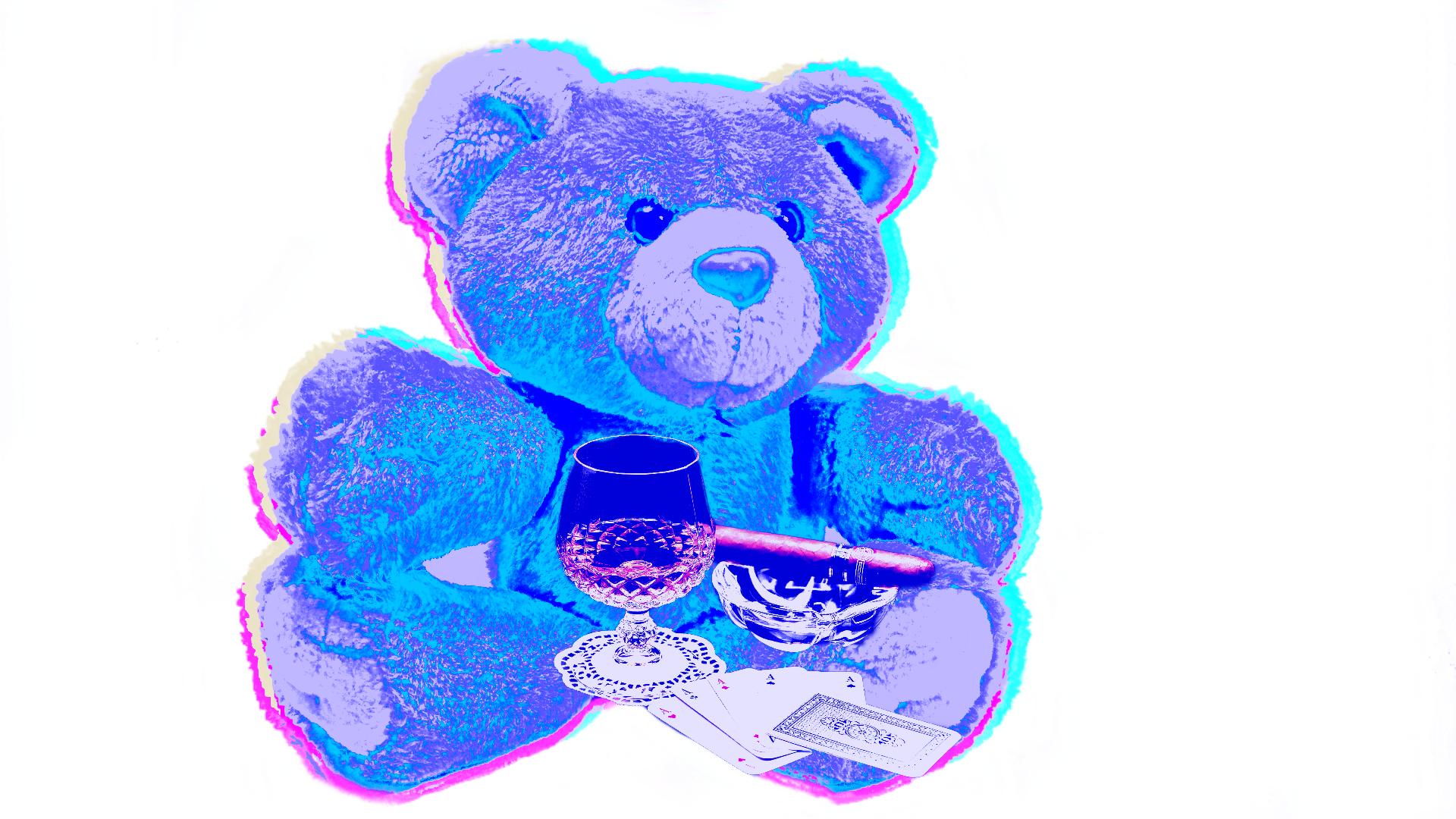 Poker Bear T-Shirt