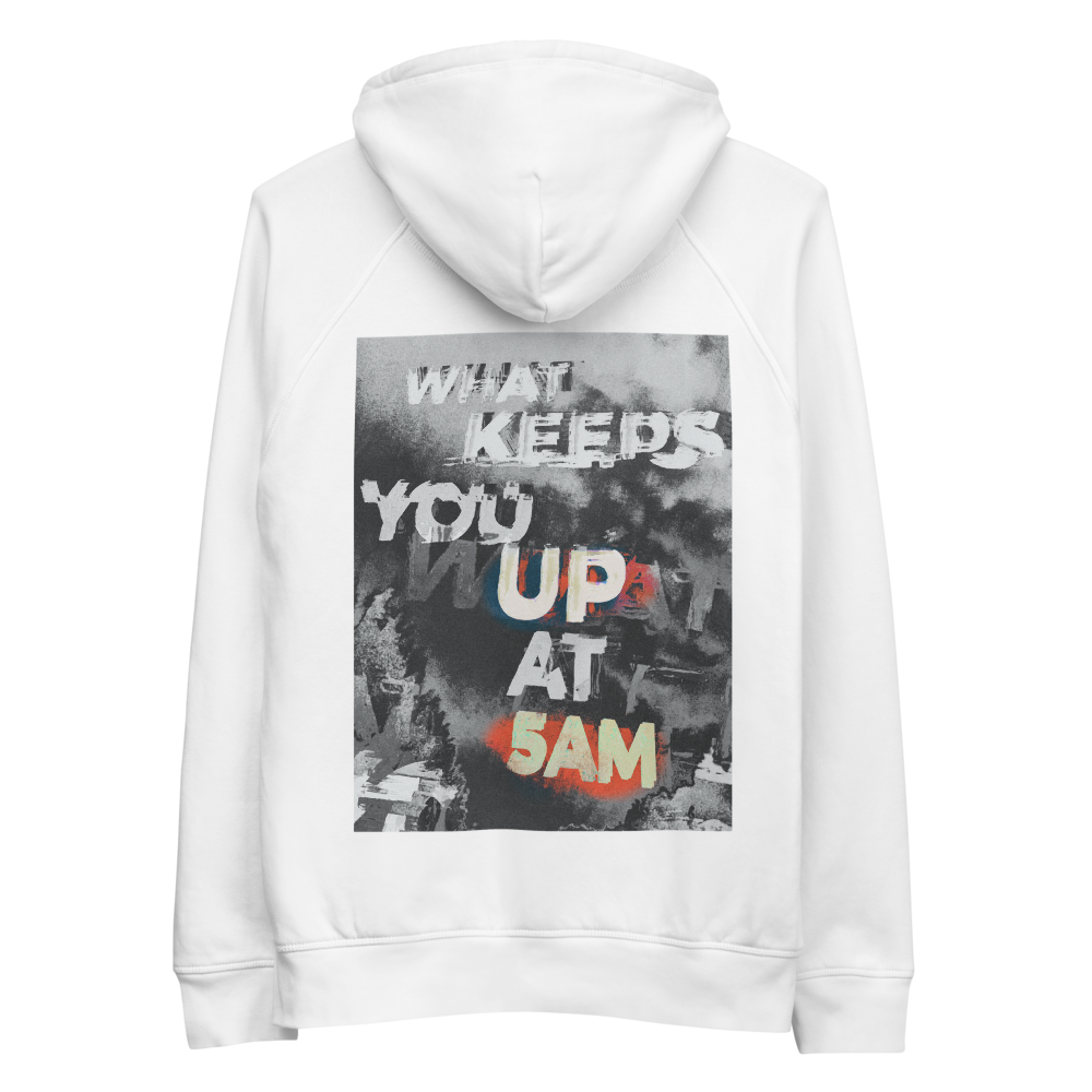 What keeps you up? hoodie
