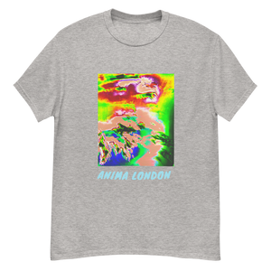 Gradient path t-shirt