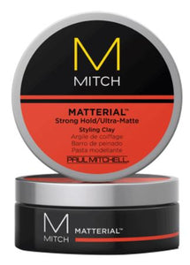 John Paul Mitchell Systems Matterial Strong Hold - Ultra Matte Styling Clay