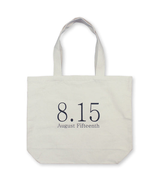 8.15 Canvas Tote Bag <br/>  Natural