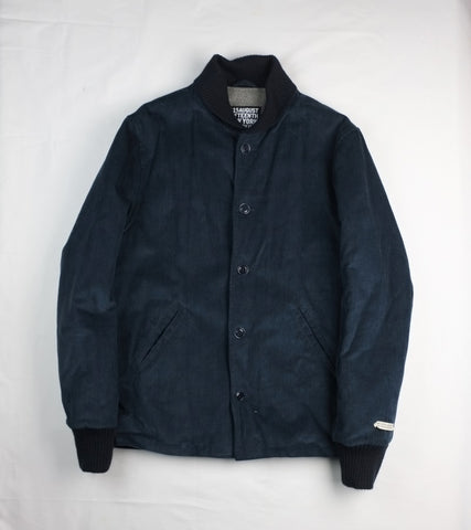CORDUROY VILLAGE JACKET <br/> Navy