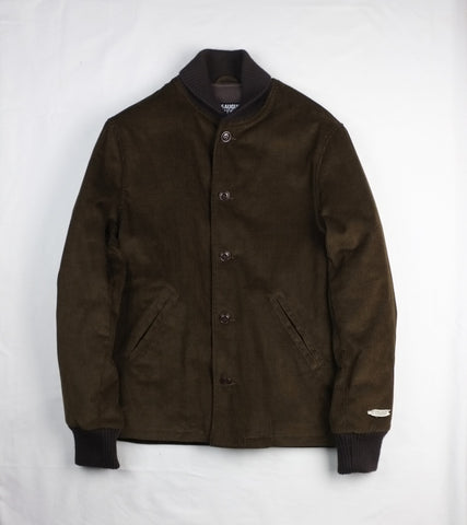 CORDUROY VILLAGE JACKET <br/> Brown