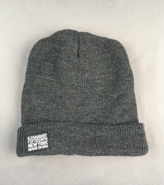MERINO BEANIE HAT <br/> Oxford Grey
