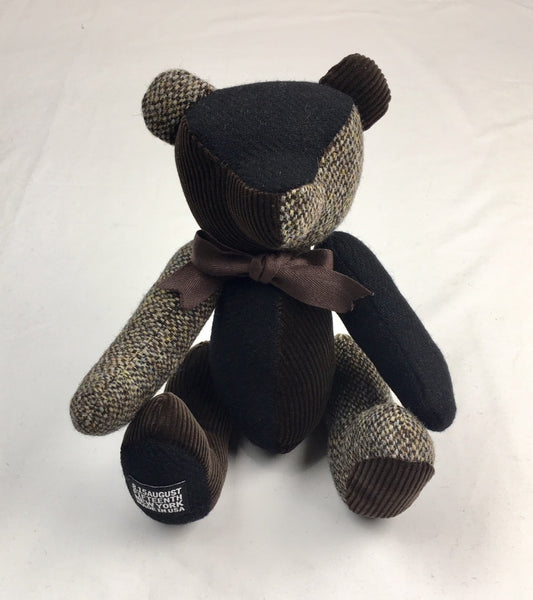 HARRIS TWEED BEAR <br/>  Brown Mix