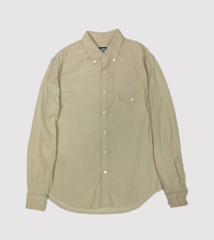 Natural Fit B.D. L/S    <br/> Corduroy Putty