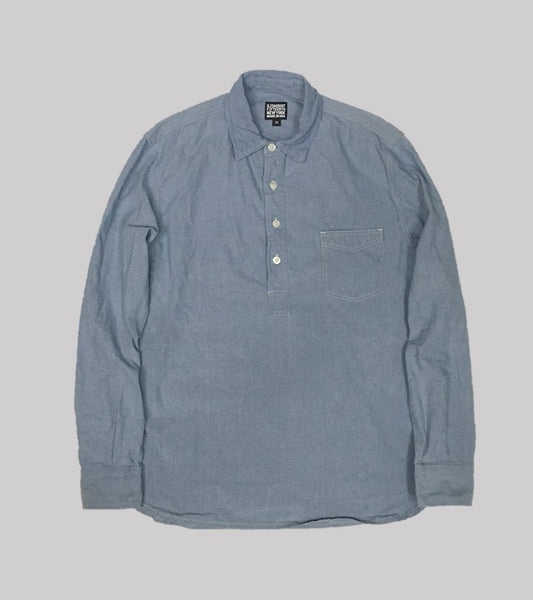 POPOVER WORK SHIRT <br/> Washed Chambray