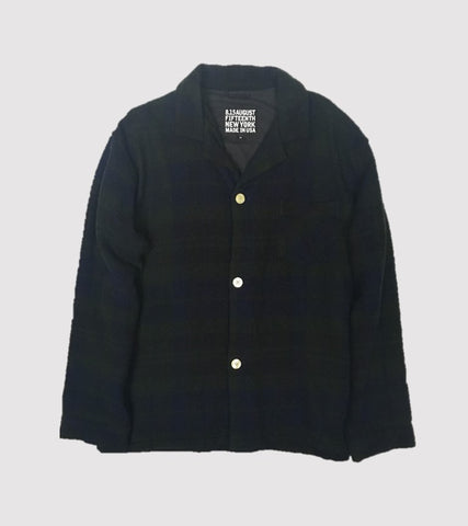 PJ SHIRT JACKET <br/> Wool Black Watch