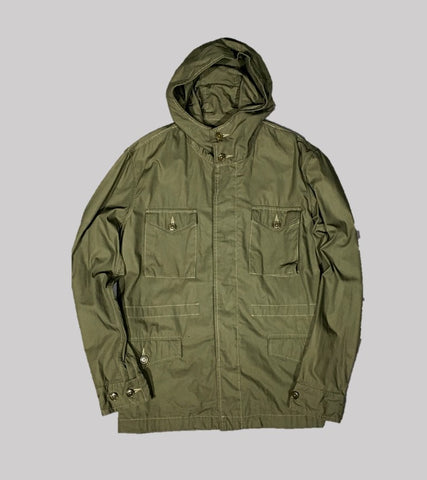 COTTON MILITARY PARKA <br/> Olive