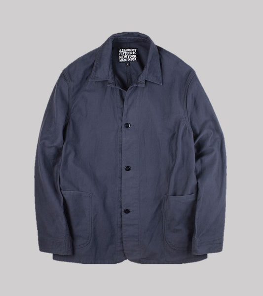 CHORE COAT <br/> Navy German Cloth