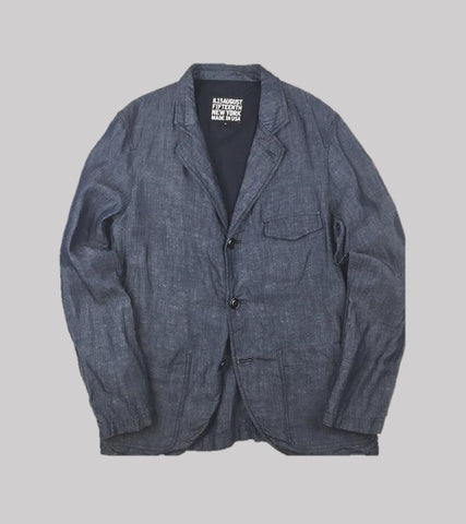 UNCONSTRUCTED SPORT COAT <br/> Linen Cotton Chambray