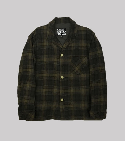 PJ SHIRT JACKET <br/> Heavy Flannel Plaid