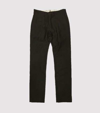 HAND TAILORED SLIM PANT <br/> Moleskin Brown