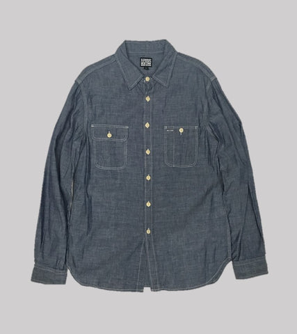 CHAMBRAY WORK SHIRT <br/>  Chambray