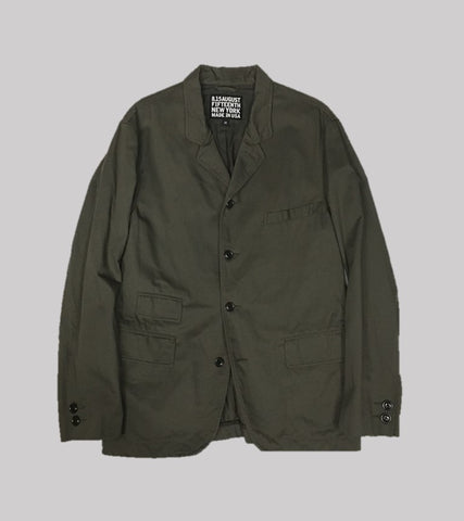 WORKSHOP SPORT COAT <br/> Army Cloth in Olive
