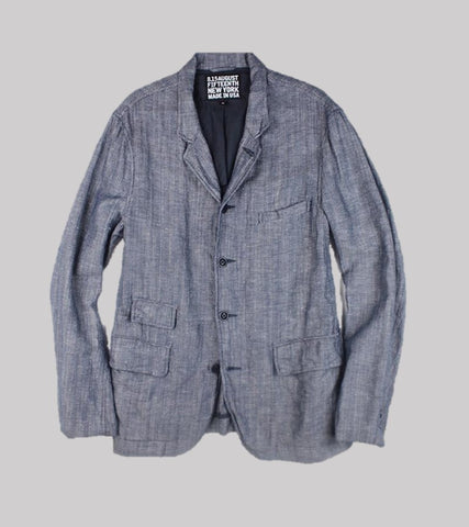 WORKSHOP SPORT COAT <br/> Linen Denim