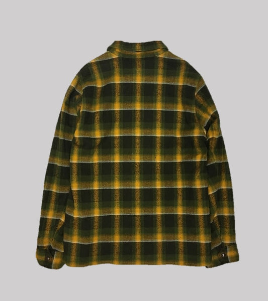 FLANNEL COACH JACKET <br/> Heavy Flannel Plaid