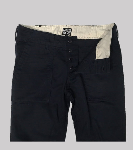 FATIGUE PANT <br/> Navy Twill