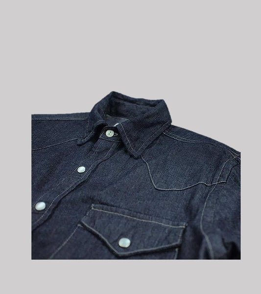WESTERN SHIRT <br/> Japanese Denim