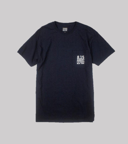 LOGO POCKET T  <br/> Navy