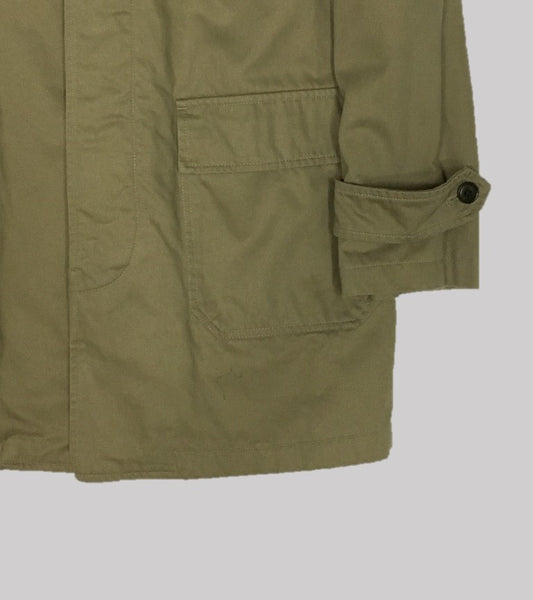 HIGHLANDS COAT <br/> Brushed Cotton-British Khaki