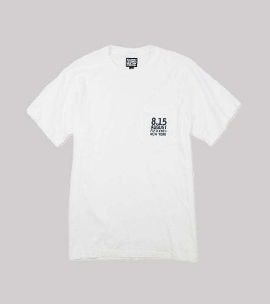 LOGO POCKET T  <br/> White