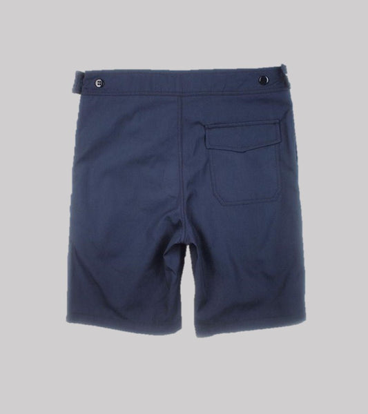 BOARD SHORT <BR/> Quick Dry Poplin Navy