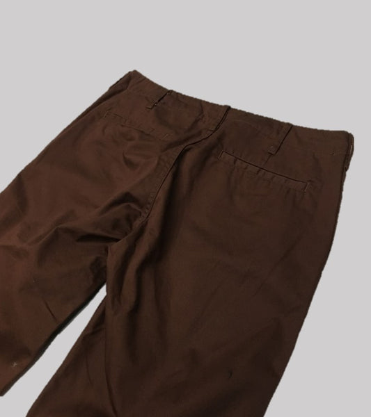 SLIM FIT CHINO PANT <br/> Chocolate Herringbone Twill
