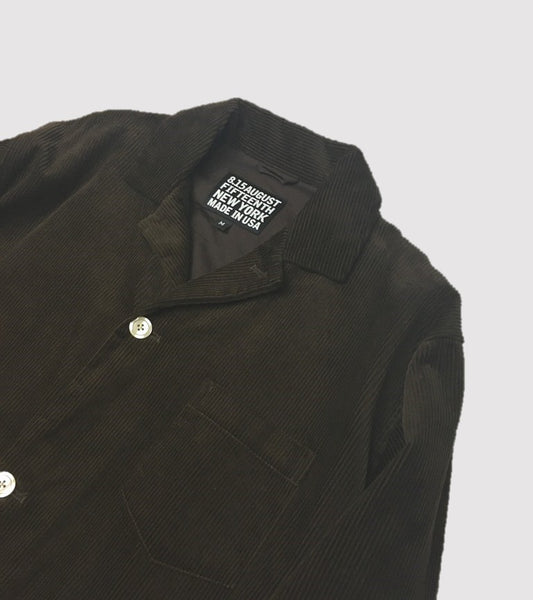 PJ SHIRT JACKET <br/> Corduroy Brown