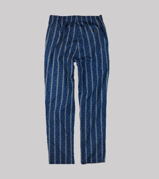 PULL-ON PANT <br/> Indigo Stripe