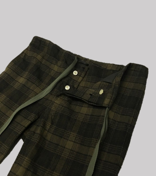 PJ EASY PANT <br/> Heavy Flannel Plaid