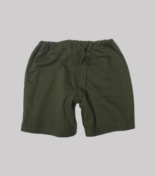 POOLSIDE SHORT <BR/> Olive Twill