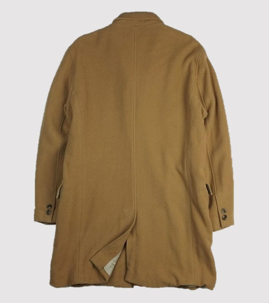 TOP COAT <br/>Camel Soft Wool