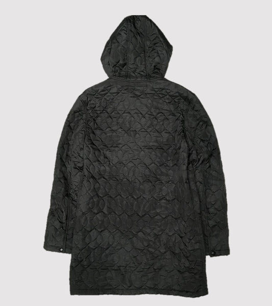 HOODED LINER COAT <br/>Quilted Camouflage
