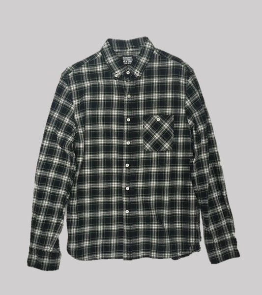 DARTMOUTH B.D. SHIRT - Scottish Green Plaid