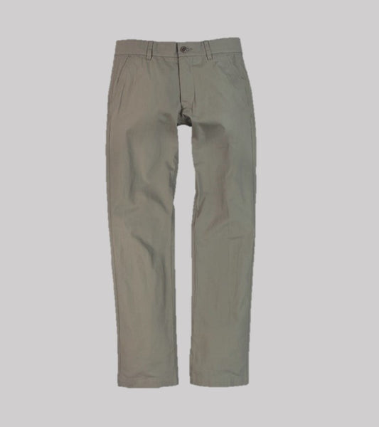 HAND TAILORED SLIM PANT <br/> Taupe Poplin