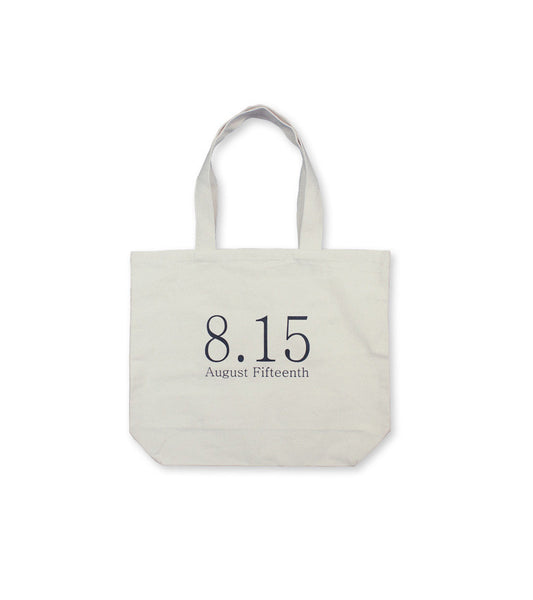 BOOK TOTE - 8.15 Logo <br/>  Natural
