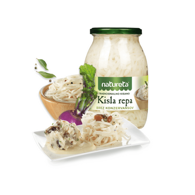 Natureta Pickled turnip | Kisla repa 1kg