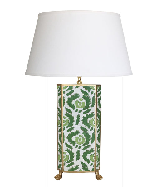 Beaufont in Green Table Lamp