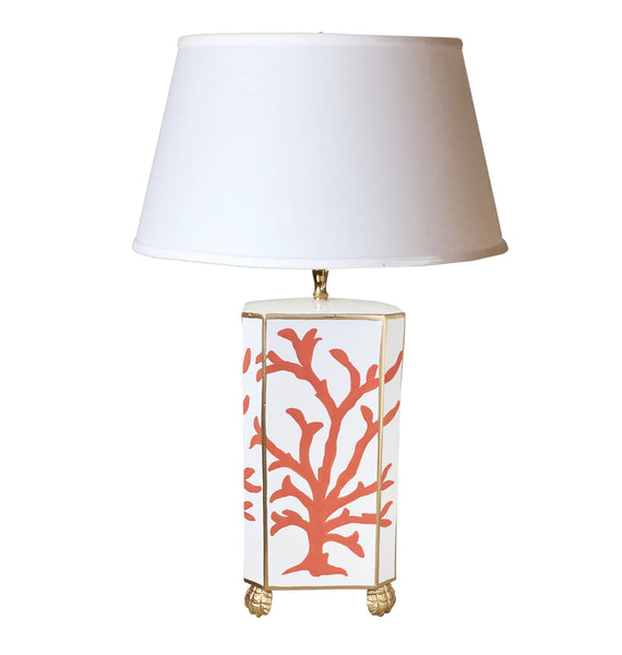 Coral Coral Table Lamp