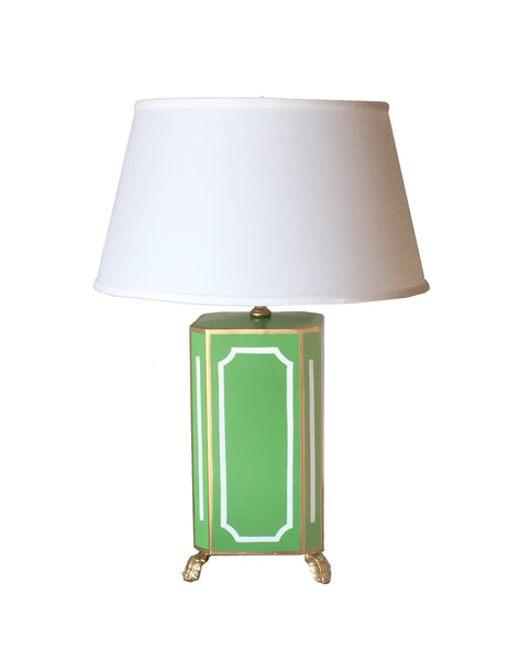 Devon in Green Lamp