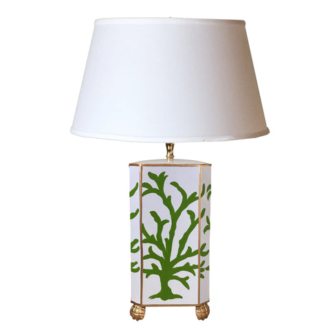 Green Coral Table Lamp